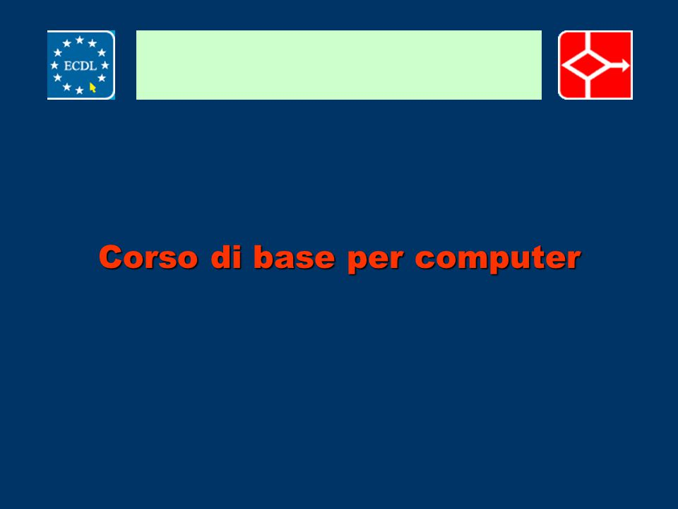Corso di base per computer