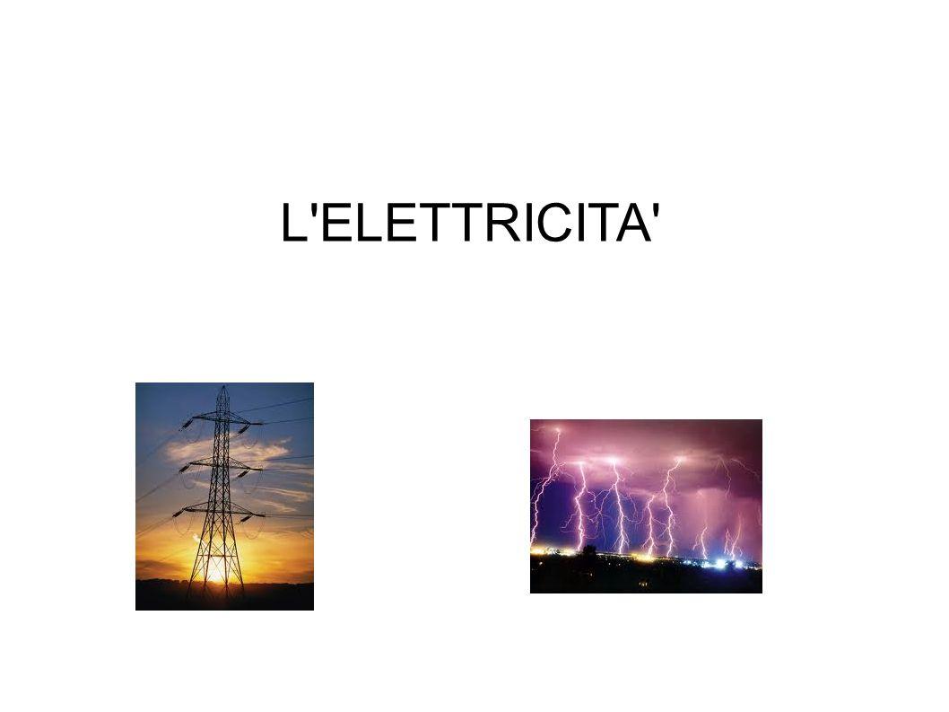 L'ELETTRICITA'