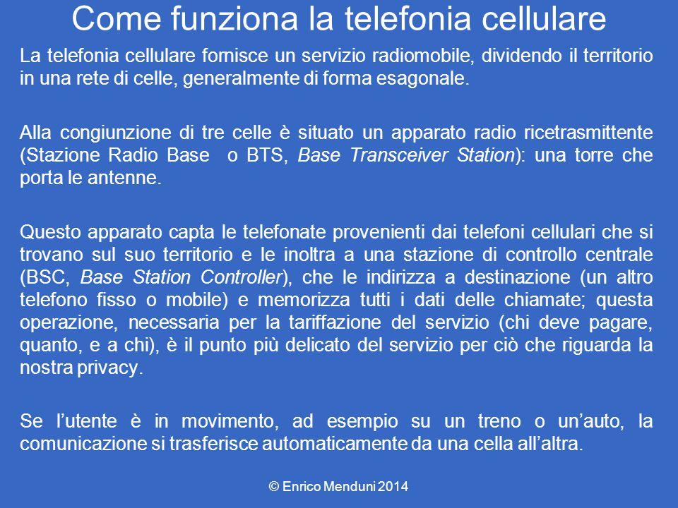 Stazione radio base (BTS) © Enrico Menduni 2014