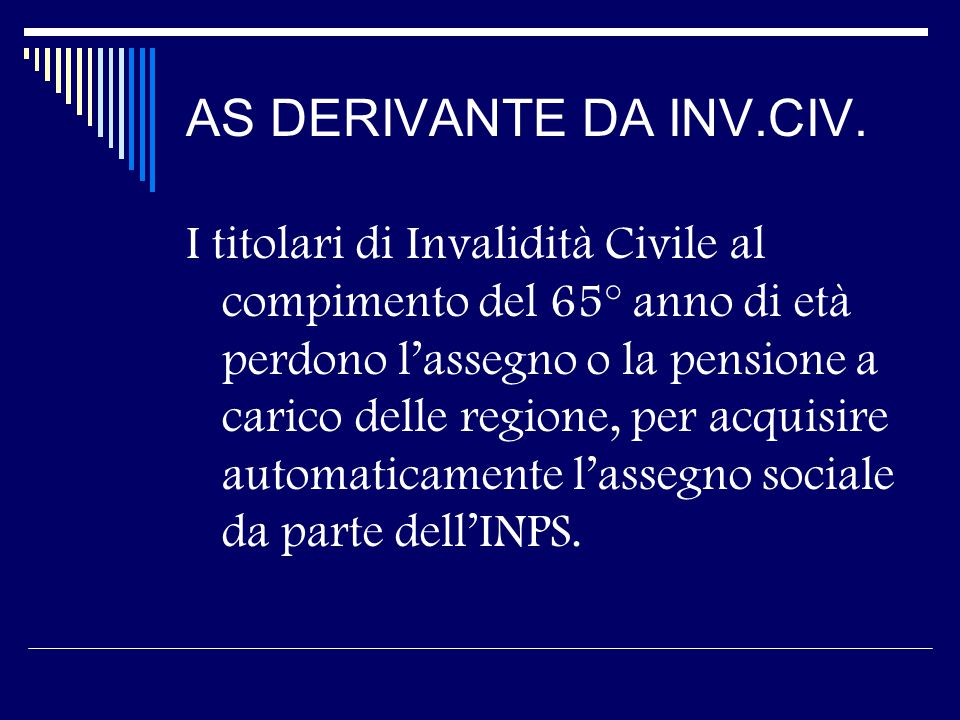 AS DERIVANTE DA INV.CIV.