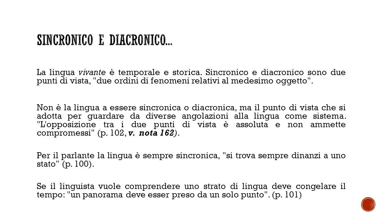 Fatto diacronico 1: Lat.