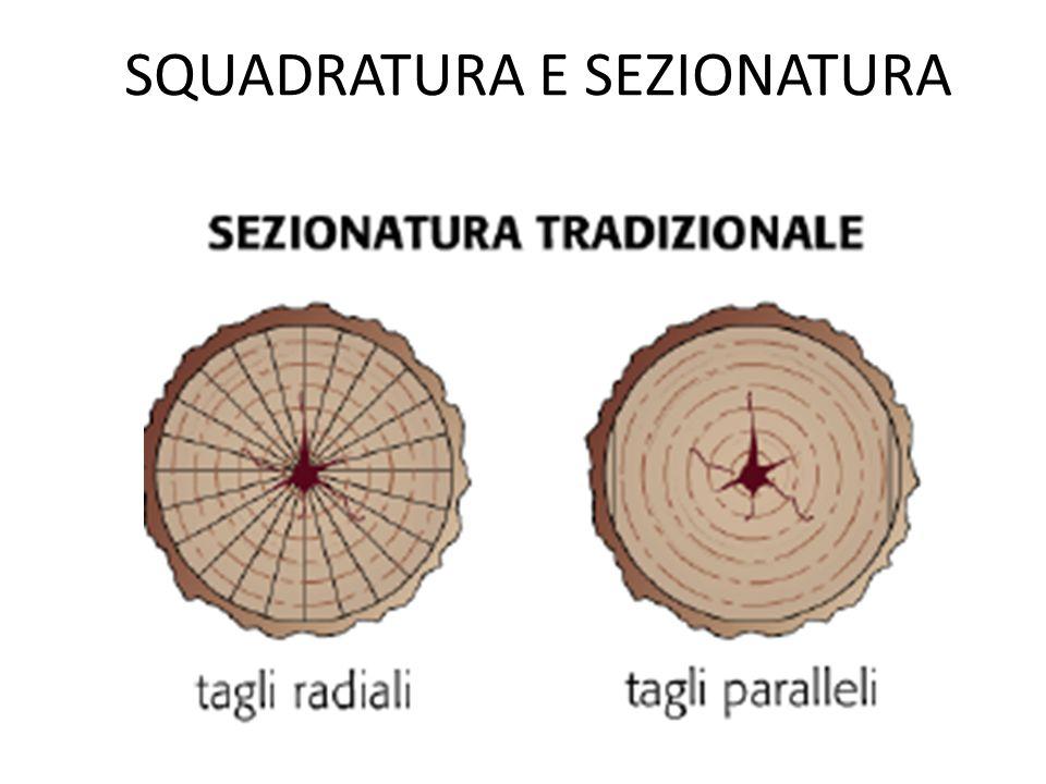 SQUADRATURA E SEZIONATURA