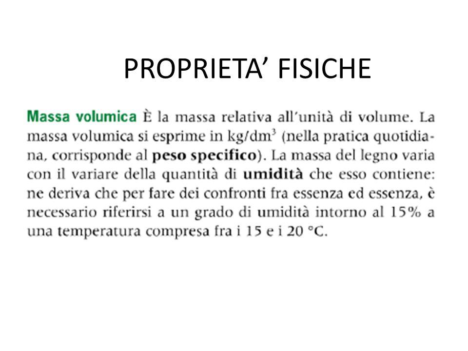 PROPRIETA' FISICHE