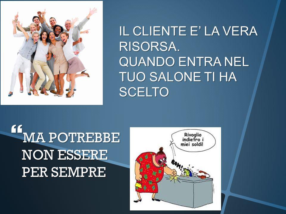 Dott.ssa Caterina Panzeri - KPCommunication IL CLIENTE E' LA VERA RISORSA.
