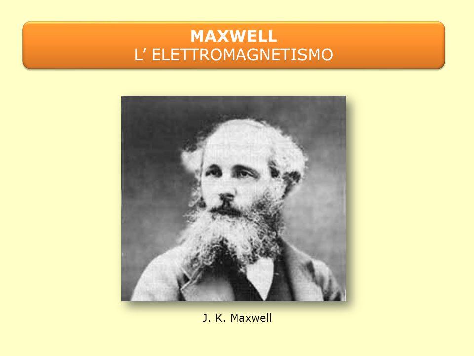 J. K. Maxwell MAXWELL L' ELETTROMAGNETISMO MAXWELL L' ELETTROMAGNETISMO