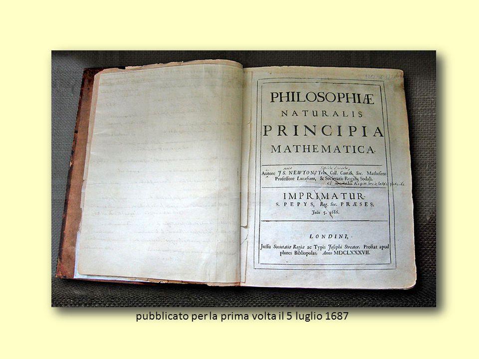 pubblicato per la prima volta il 5 luglio 1687