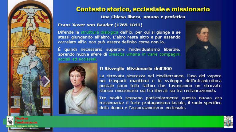 Franz Xaver von Baader (1765-1841) Difende la struttura dialogica dell'io, per cui si giunge a se stessi giungendo all'altro.