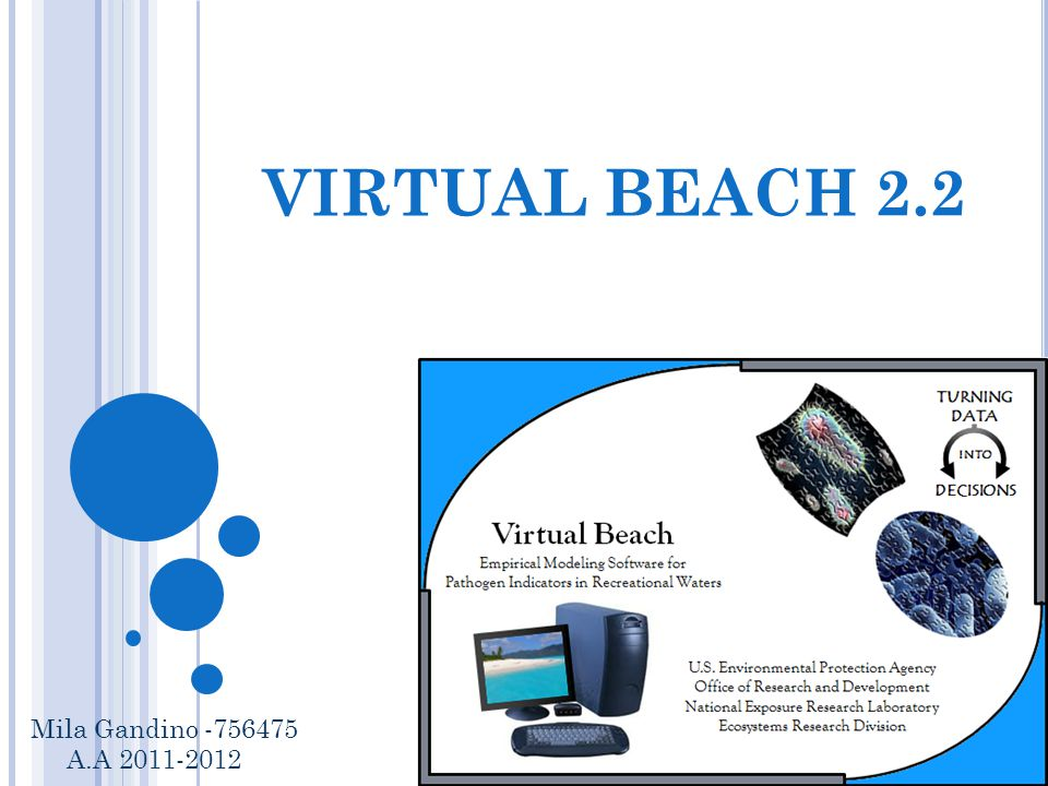 VIRTUAL BEACH 2.2 Mila Gandino -756475 A.A 2011-2012