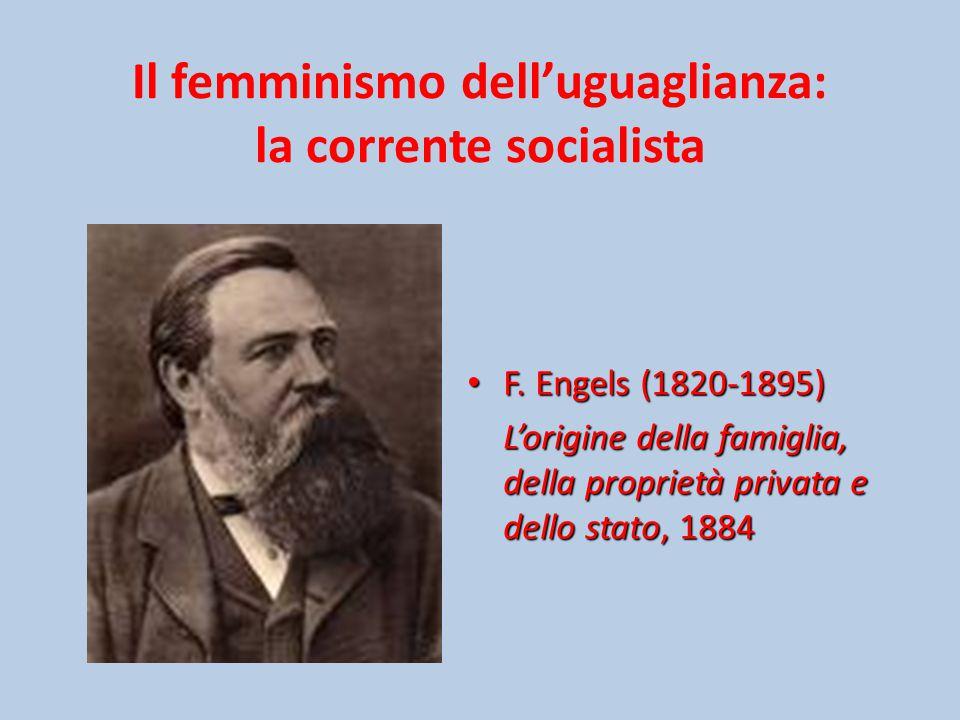 Il femminismo dell'uguaglianza: la corrente socialista F.