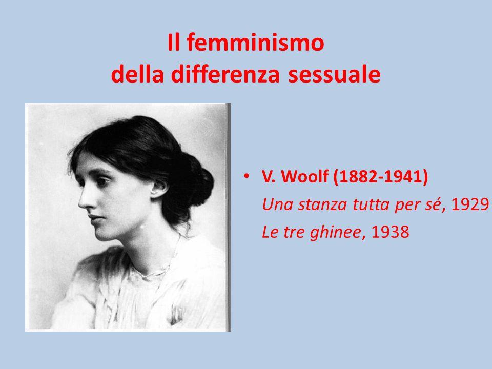 Il femminismo della differenza sessuale V.