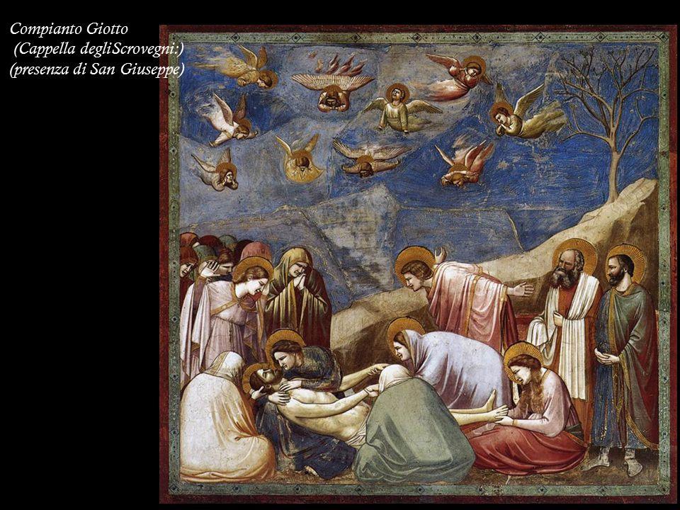 Compianto Giotto (Cappella degliScrovegni:) (presenza di San Giuseppe)