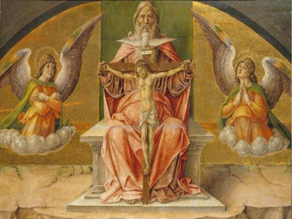 I cristiani vengono battezzati nel nome del Padre e del Figlio e dello Spirito Santo (Mt 28,19).