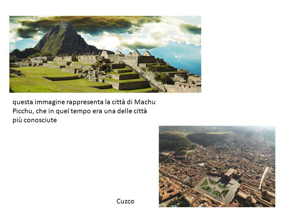 I vestiti Gli inca si vestivano con tuniche stilizzate che ne rappresentavano lo status sociale.