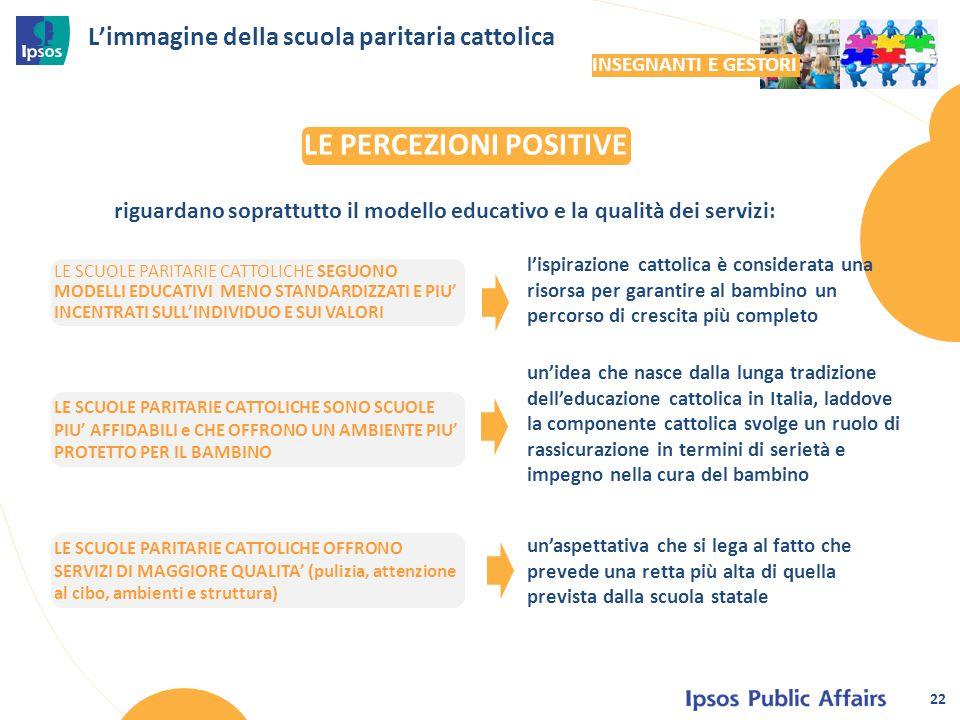 L'immagine della scuola paritaria cattolica l'ispirazione cattolica è considerata una risorsa per garantire al bambino un percorso di crescita più com