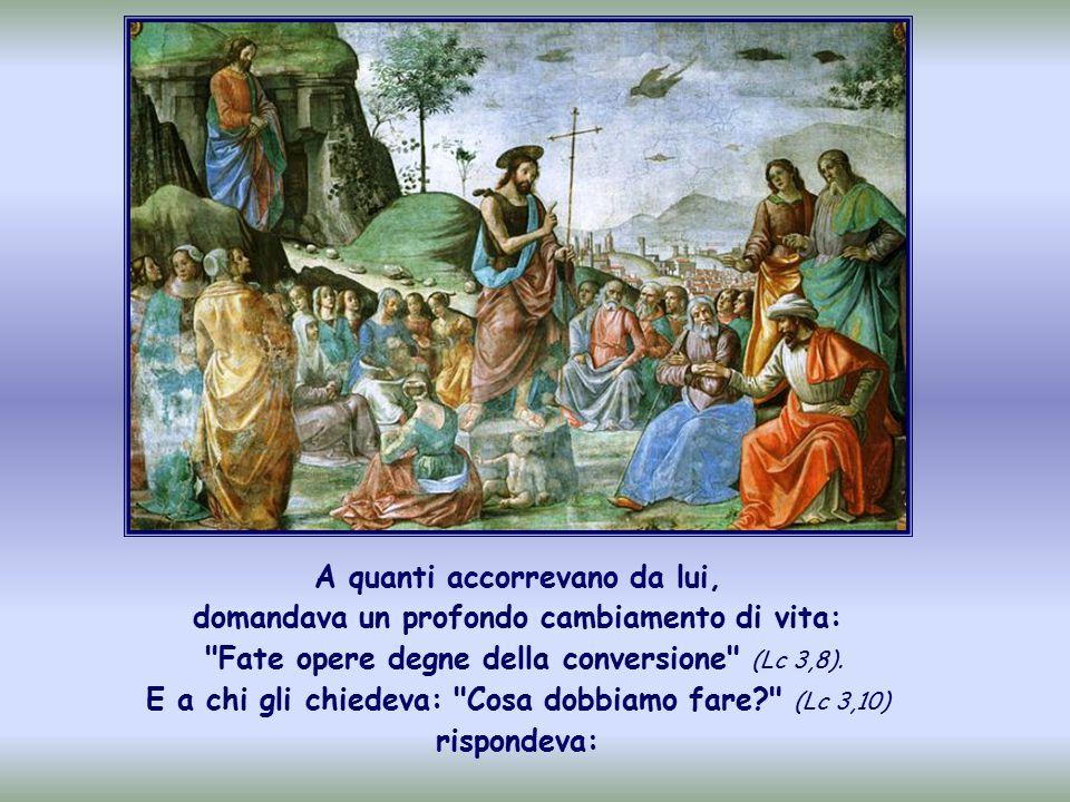 In questo periodo di Avvento, il tempo che ci prepara al Natale, si ripropone la figura di Giovanni il Battista.