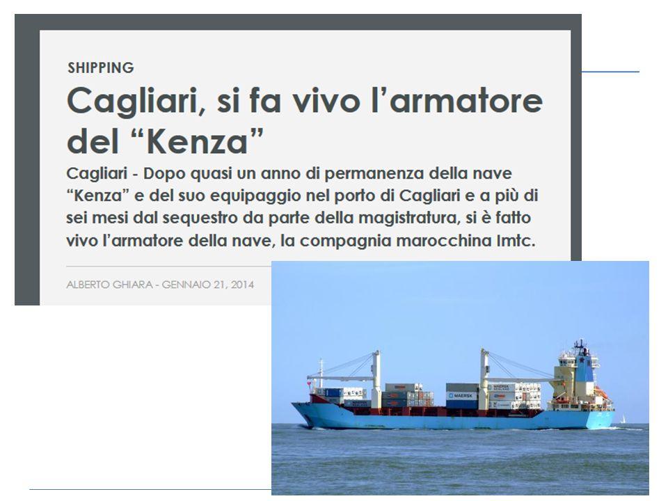 Cagliari - Dopo quasi un anno di permanenza della nave Kenza e del suo equipaggio nel porto di Cagliari e a più di sei mesi dal sequestro da parte della magistratura, si è fatto vivo l'armatore della nave, la compagnia marocchina Imtc.