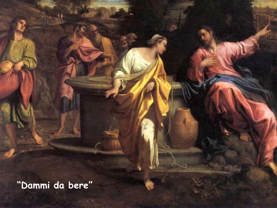 «Le dice Gesù: Dammi da bere » (Gv 4,7). Parola di Vita di Gennaio 2015