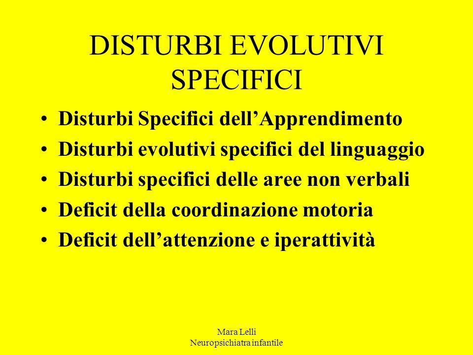 4 - Problemi in compiti cognitivi ( es.
