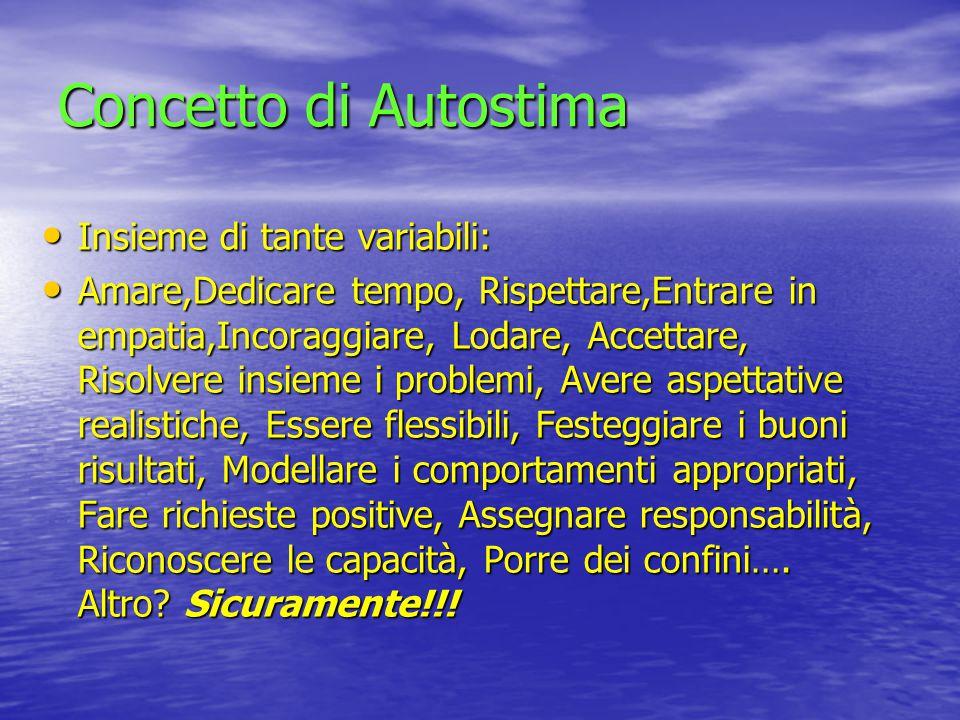 COME INCREMENTARE IL SENSO DI AUTOEFFICACIA NEL BAMBINO .