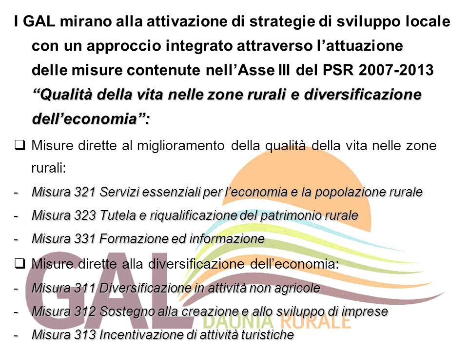 """""""Qualità della vita nelle zone rurali e diversificazione dell'economia"""": I GAL mirano alla attivazione di strategie di sviluppo locale con un approcci"""