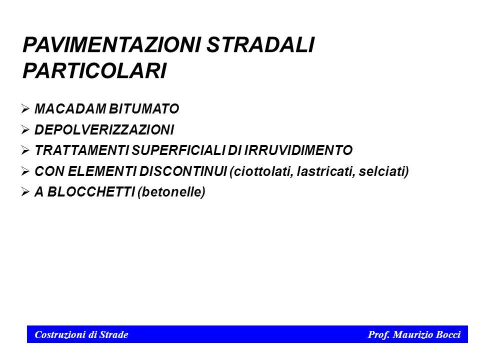 Costruzioni di Strade Prof.