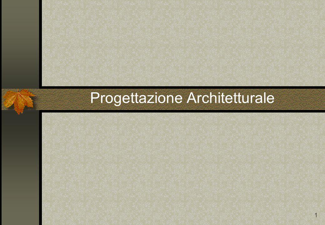 1 Progettazione Architetturale