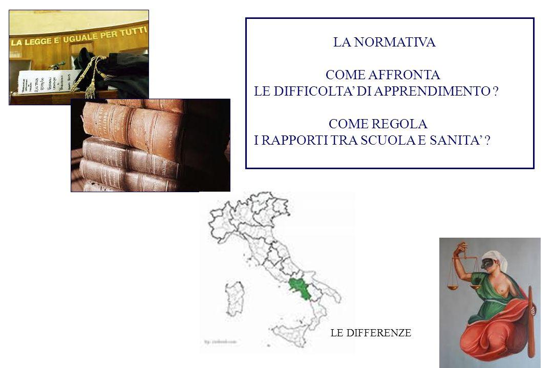 POTENZIALITA' E AMBIENTE DIFFICOLTA' DELL'APPRENDIMENTO …..