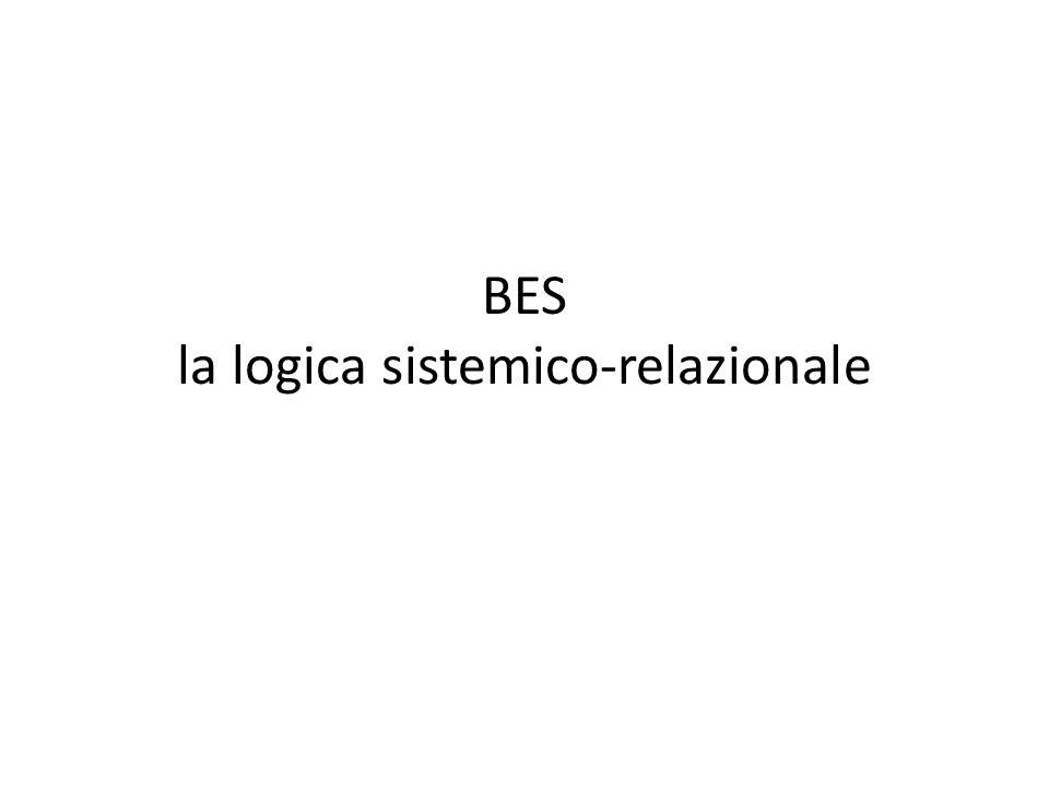 BES la logica sistemico-relazionale