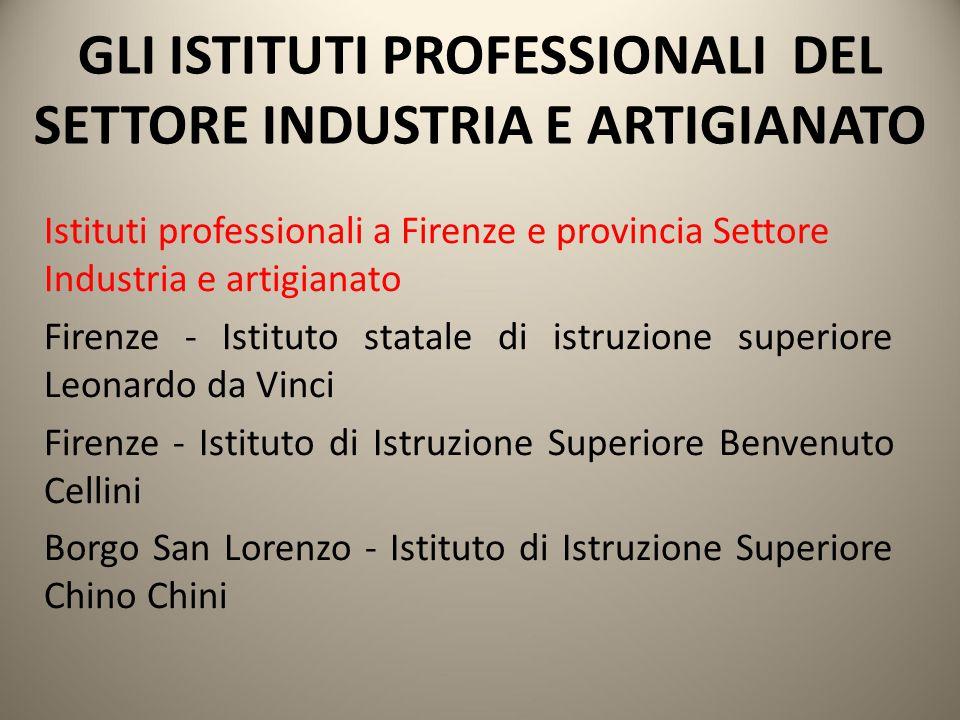 Istituti professionali a Firenze e provincia Settore Industria e artigianato Firenze - Istituto statale di istruzione superiore Leonardo da Vinci Fire