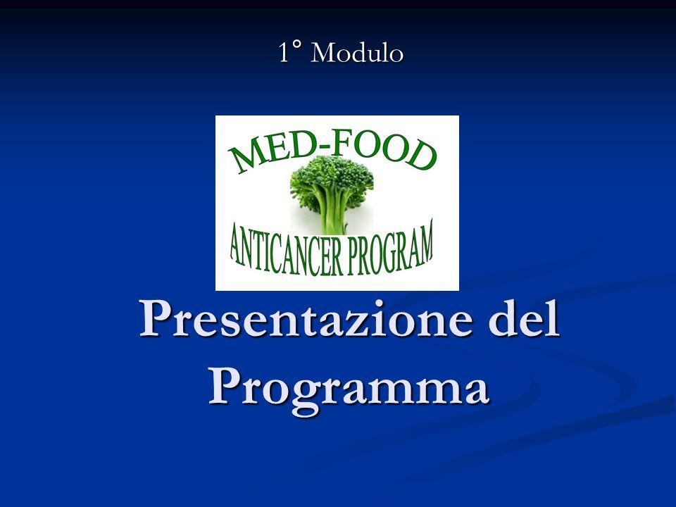 Presentazione del Programma 1° Modulo