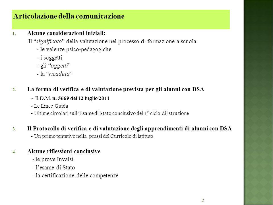 23 Tabella B – STRUMENTI COMPENSATIVI (legge n.170/2010 e Linee Guida 12.07.2011) 1.
