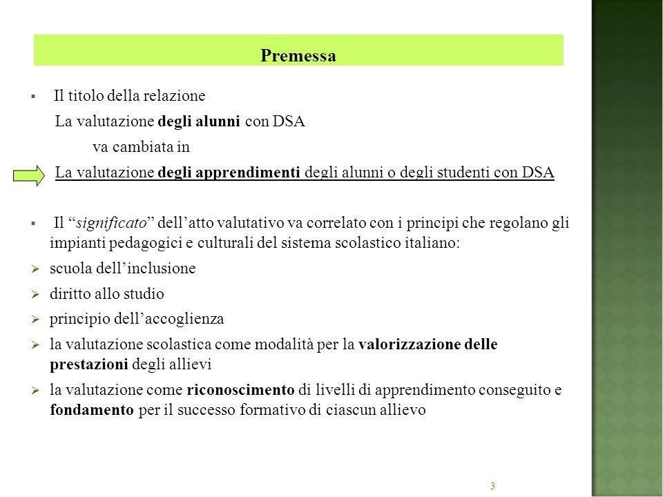 4  La legge n.170/2010 e il successivo DM n.