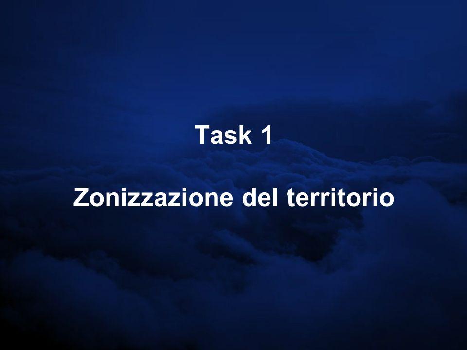 Task 1 Zonizzazione del territorio