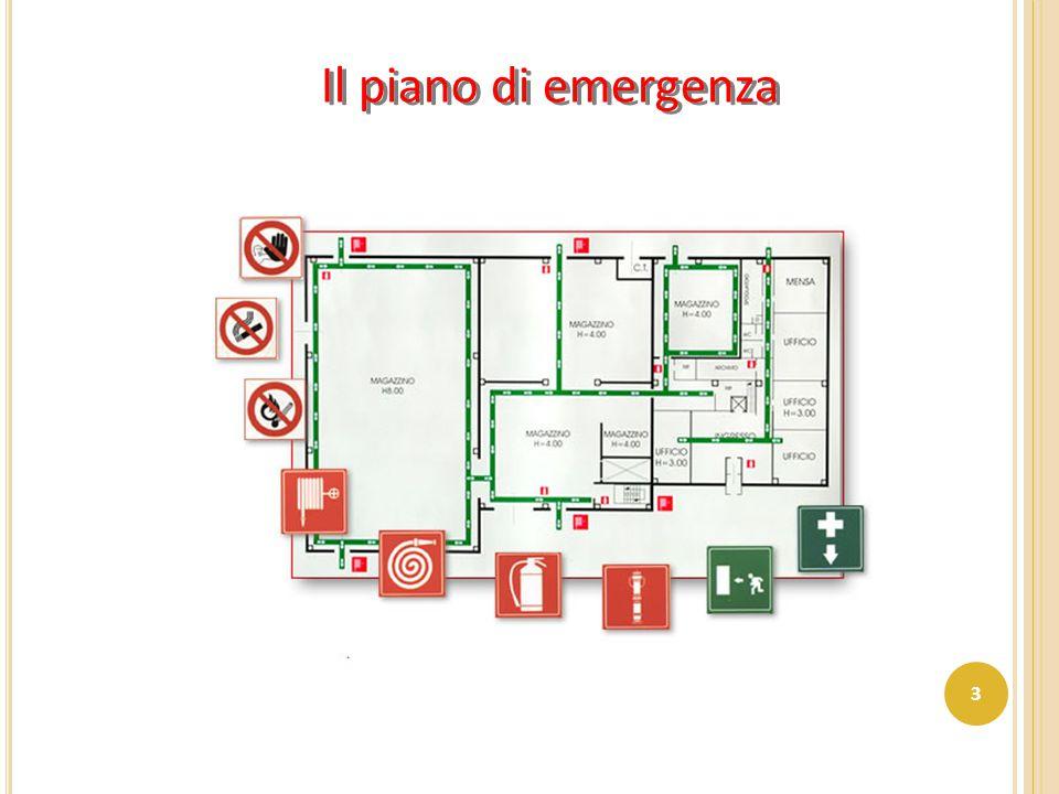 Il piano di emergenza 3