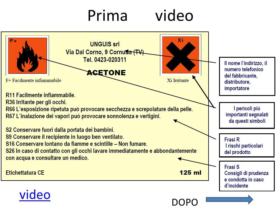 Prima video DOPO video