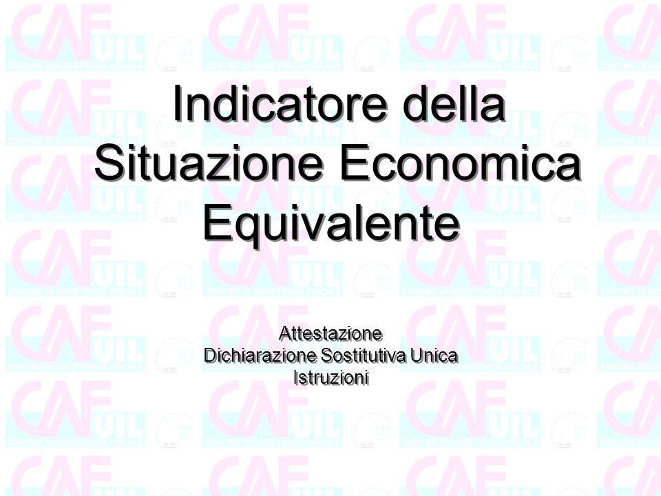 Dichiarazione Sostitutiva Unica DSU (articolo 10 DPCM 159/2013) La DSU è la dichiarazione necessaria per calcolare l'Indicatore della Situazione Economica Equivalente ISEE ai fini dell'accesso alle prestazioni sociali agevolate e/o di pubblica utilità.