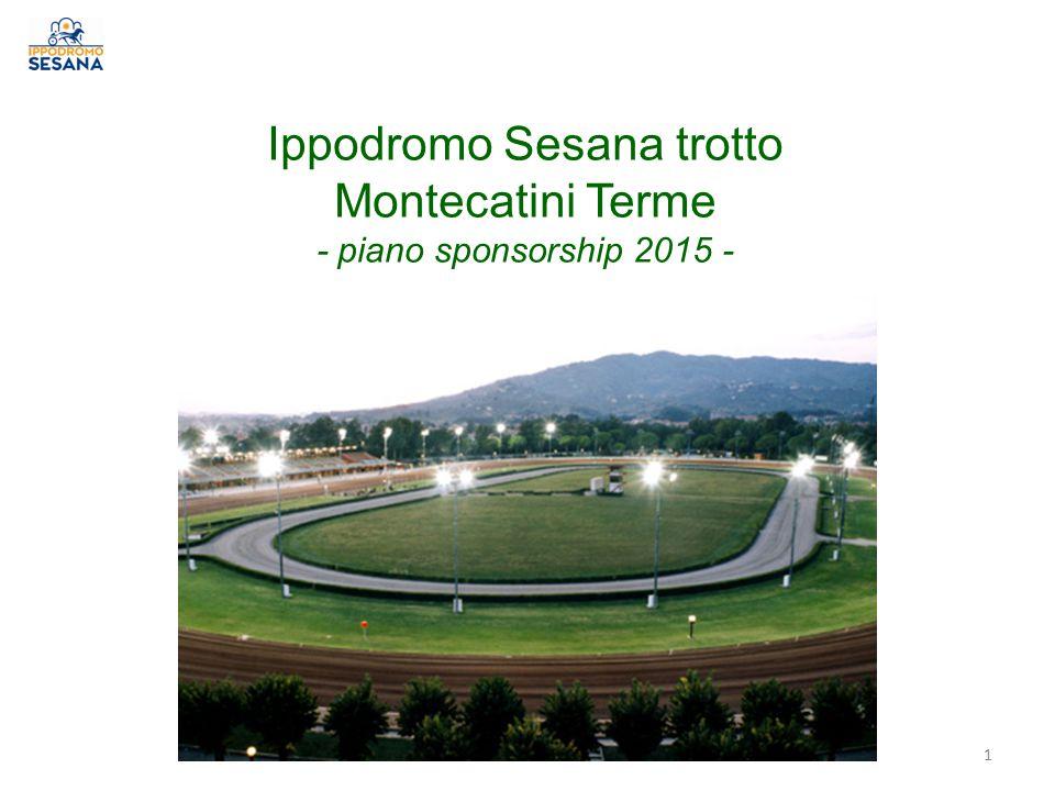 Ippodromo Sesana trotto Montecatini Terme - piano sponsorship 2015 - 1