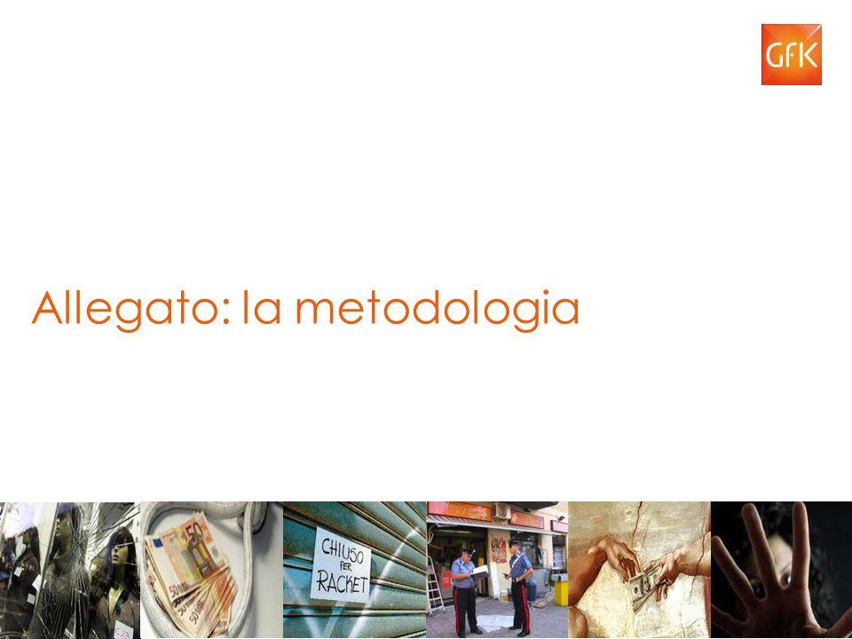 Allegato: la metodologia