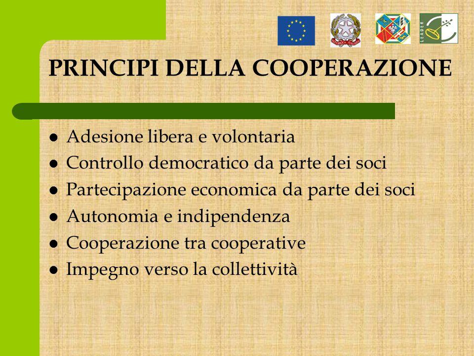 La cooperativa è un mezzo per fare impresa, ma la differenza rispetto ad altre forme di società, è che non pone il lucro al centro degli obiettivi ma il singolo socio e quindi l'individuo.