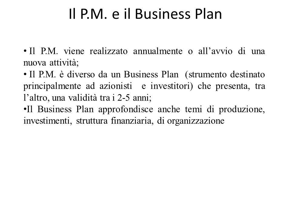 Valutare un Piano di Marketing Piano di Marketing approccio finanziario: in questo caso la bontà del PM viene valutata confrontando i risultati ottenu