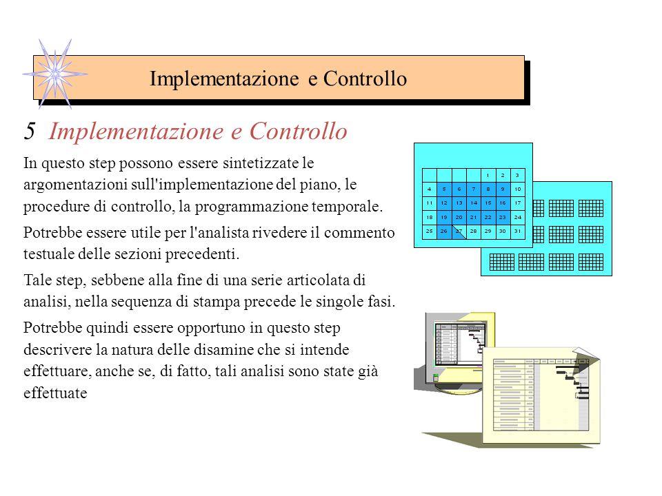 Implementazione e Controllo 5. Implementazione e Controllo 5.1 Implementazione del Piano 5.2 Organizzazione di Marketing 5.3 Piano di Emergenza