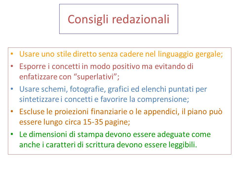 Elementi del Piano Marketing Riassunto Descrizione dell'azienda Piano strategico Analisi della situazione Descrizione del prodotto mercato Strategie e