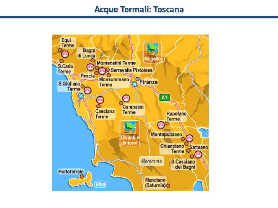 Acque Termali: Toscana