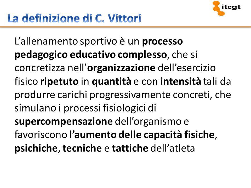 Pianificazione (a lungo termine) Programmazione (i contenuti dei singoli allenamenti) Periodizzazione (microcicli e macrocicli)