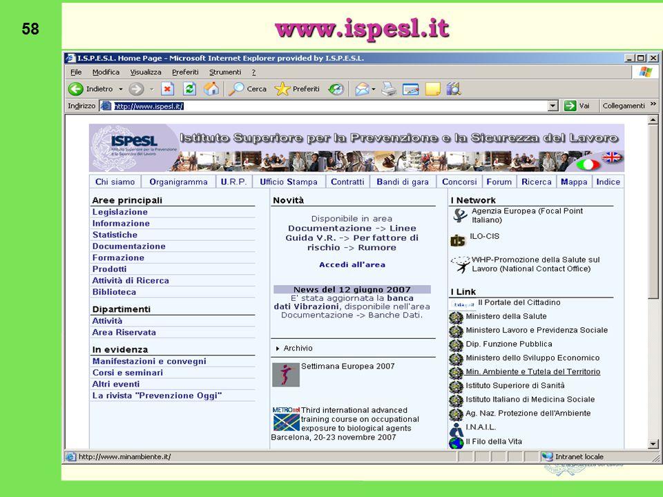 58 www.ispesl.it