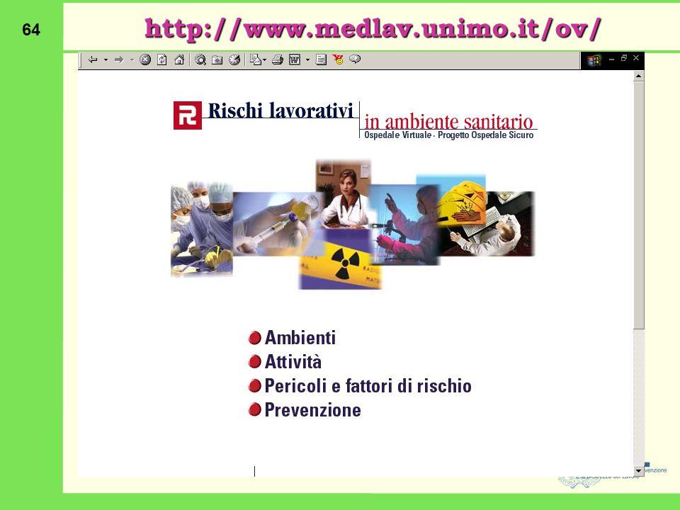 64 http://www.medlav.unimo.it/ov/