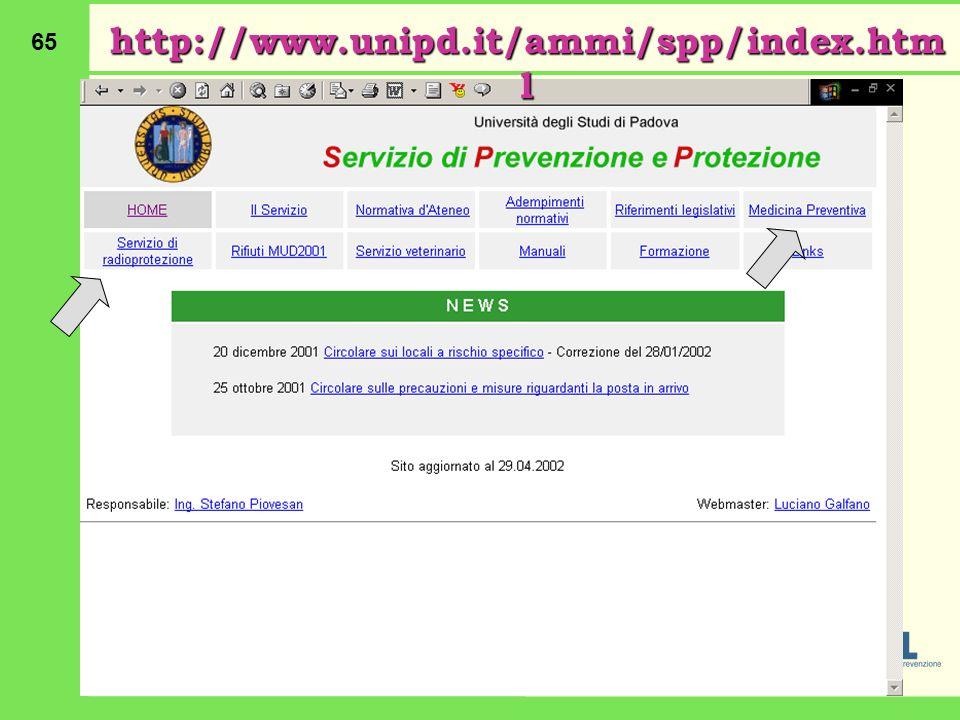 65 http://www.unipd.it/ammi/spp/index.htm l