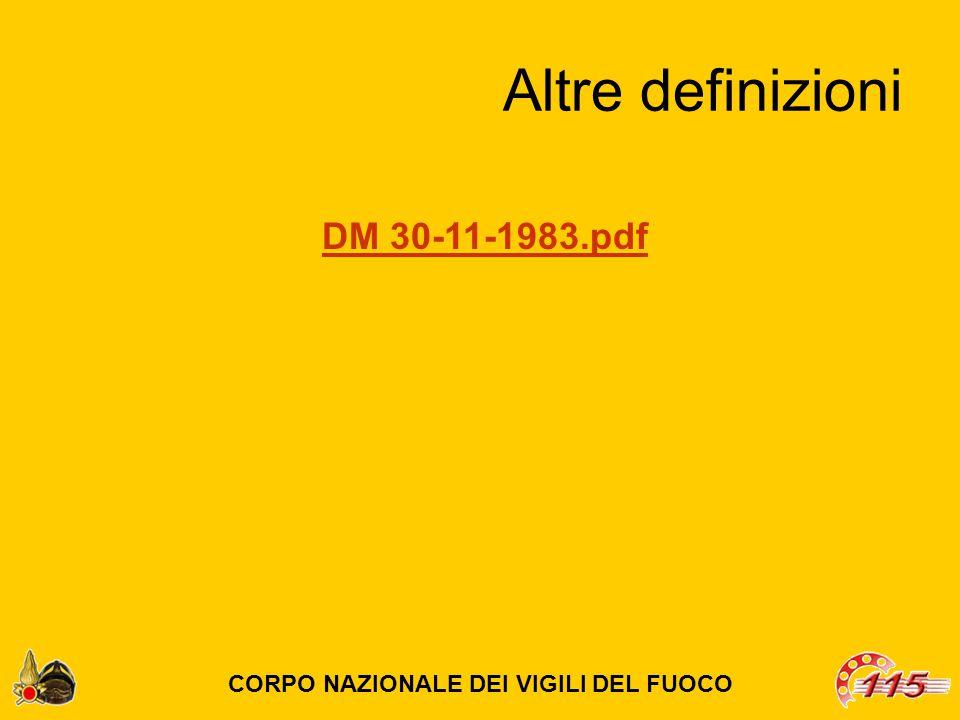 Altre definizioni CORPO NAZIONALE DEI VIGILI DEL FUOCO DM 30-11-1983.pdf