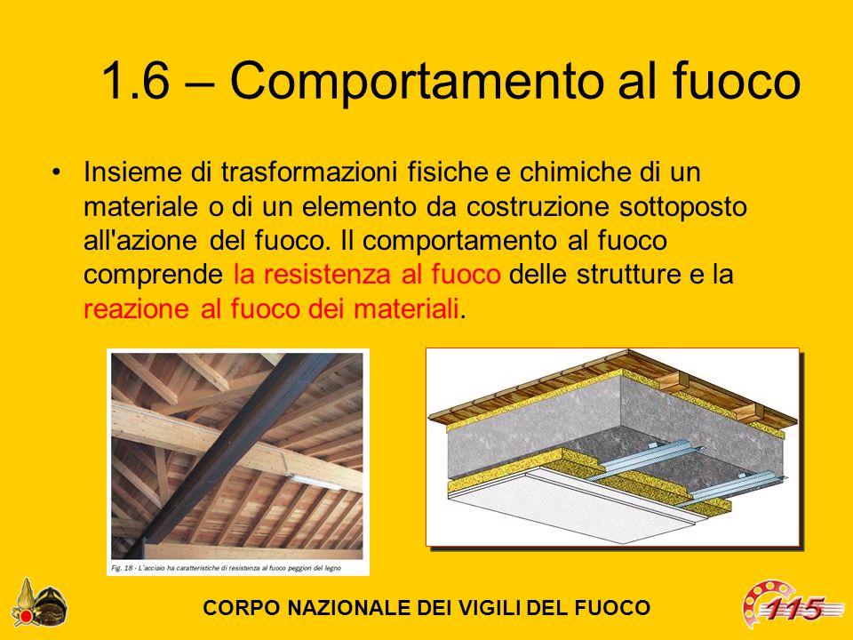 … realizzata secondo i criteri sotto riportati: - i materiali devono essere di classe 0 di reazione al fuoco; - la parete esterna dell'edificio su cui è collocata la scala, compresi gli eventuali infissi, deve possedere, per una larghezza pari alla proiezione della scala, incrementata di 2,5 m per ogni lato, requisiti di resistenza al fuoco almeno REI 60 […] CORPO NAZIONALE DEI VIGILI DEL FUOCO