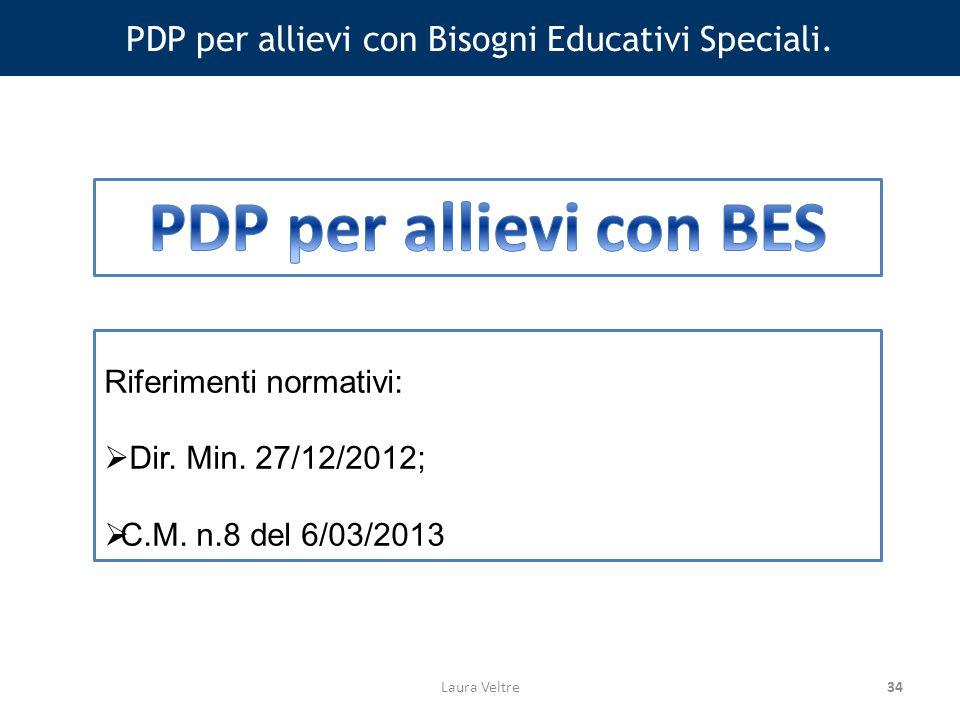 34 PDP per allievi con Bisogni Educativi Speciali.